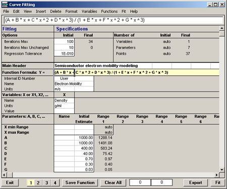 Hsc chemistry software for process simulation reactions the hsc sim data fit module offers versatile multi regression curve fitting and statistical properties for linear and nonlinear functions ccuart Gallery